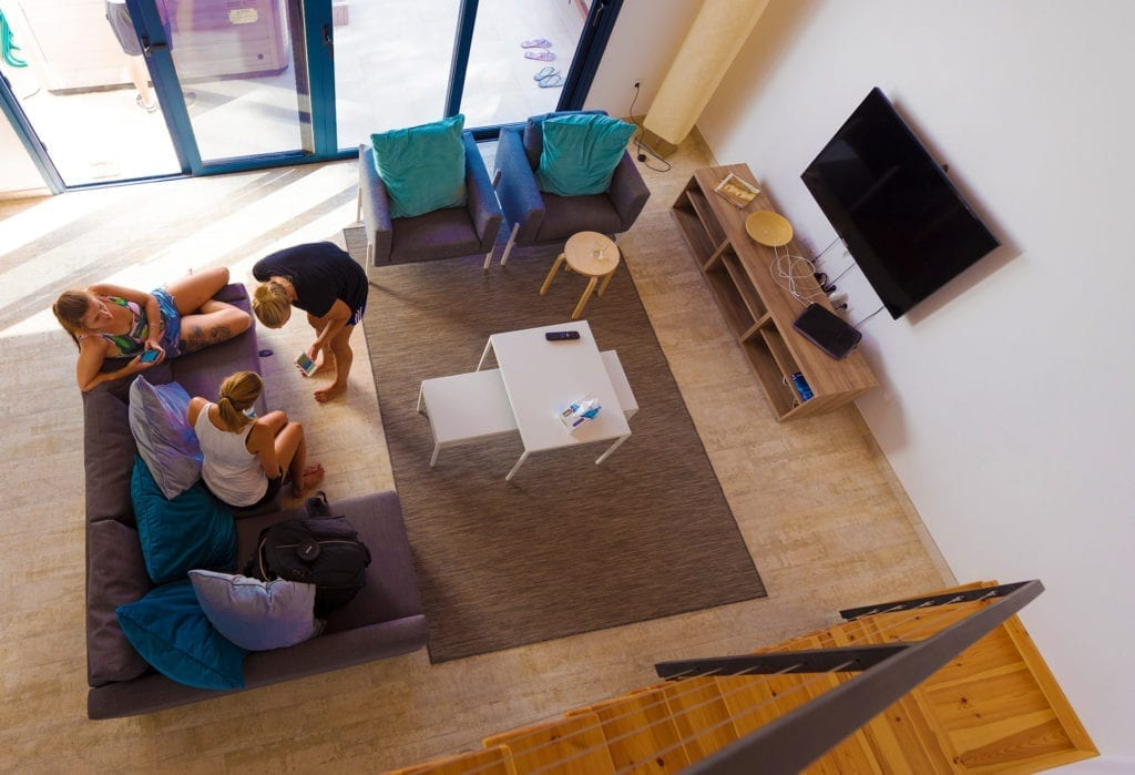 Shapedays - Fitness Retreat - living room - villa