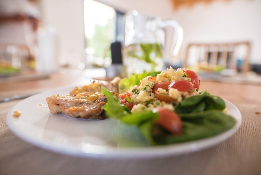 Shapedays - Fitness Retreat - tasty food - villa