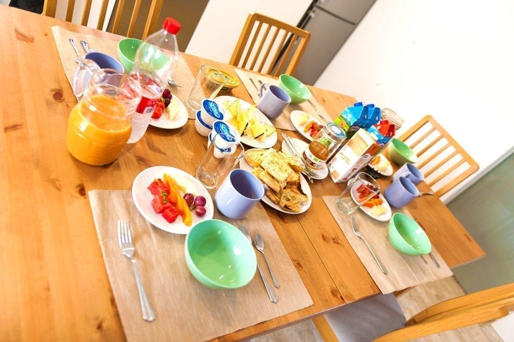 Shapedays - Fitness Retreat - breakfast - villa