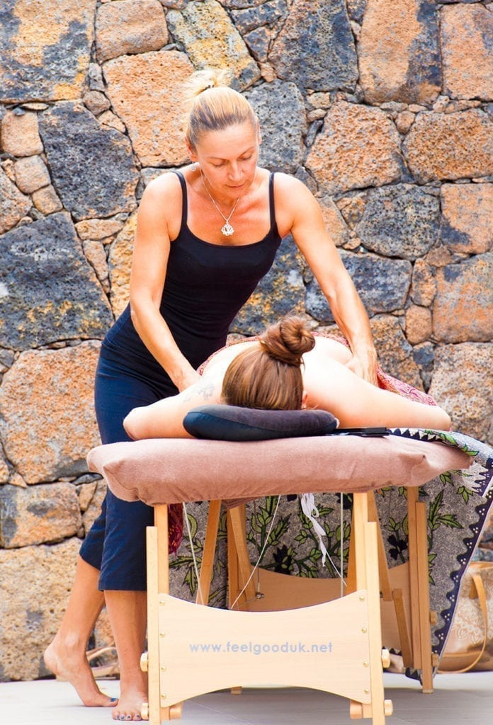 Shapedays - Fitness Retreat - massagen - programm