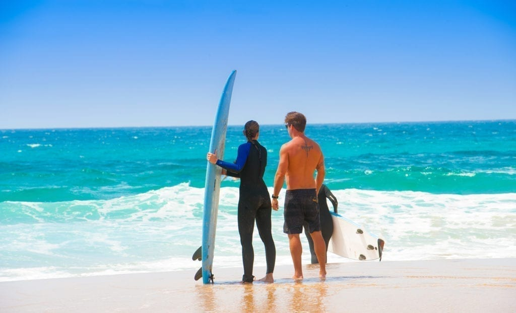 Shapedays - Fitness Retreat - surfen - programm