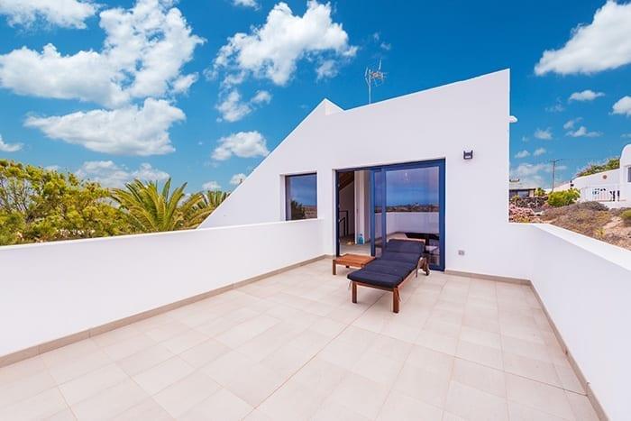 Ferienhaus von Aussen – Shapedays Fitness Retreat – Entspannte Fitness Ferien in Fuerteventura