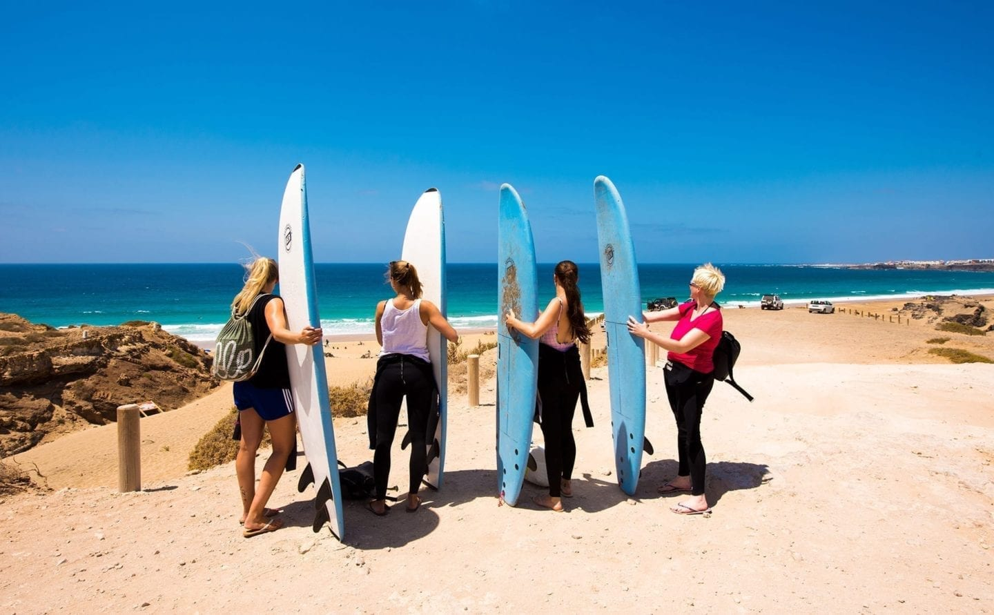 Shapedays - Fitness Retreat - surf