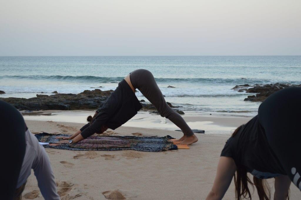 Shapedays healing retreat yoga on the beach
